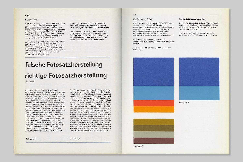 deutsche bank design manual rationale
