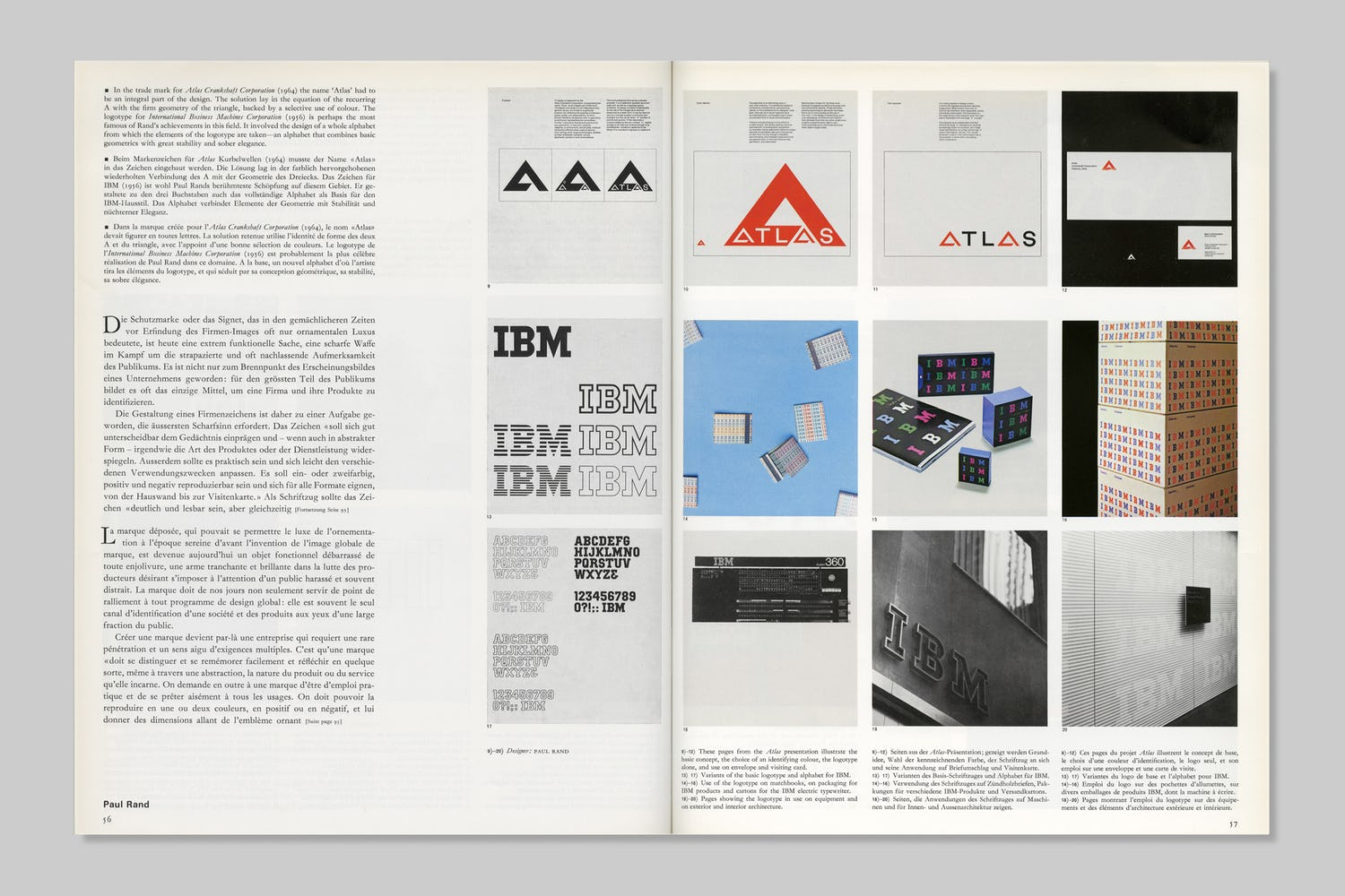 How Paul Rand Presents Trademark Designs To Clients Rationale